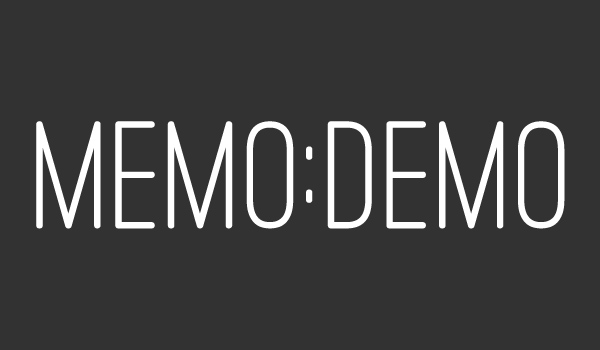"New memo:demo – ""Hickory"""
