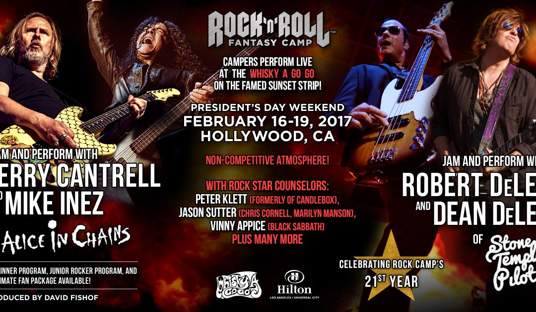 Rock N' Roll Fantasy Camp with Robert & Dean