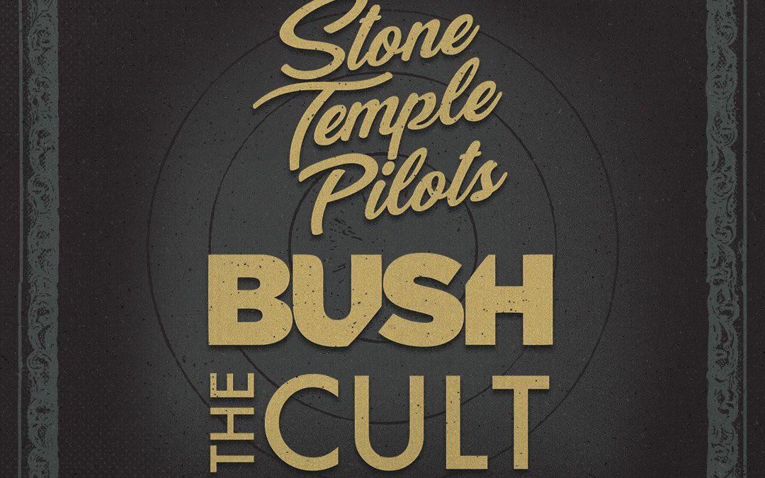 STONE TEMPLE PILOTS, BUSH, THE CULT  ANNOUNCE TRI-HEADLINING 'REVOLUTION 3' TOUR