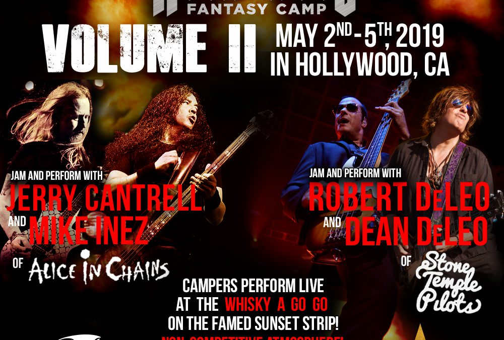Dean & Robert DeLeo Returning to Teach Rock 'n' Roll Fantasy Camp