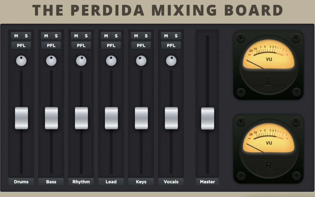 Stone Temple Pilots Release Free Online Perdida Mixing Board